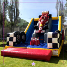 Inflable Formula 1.